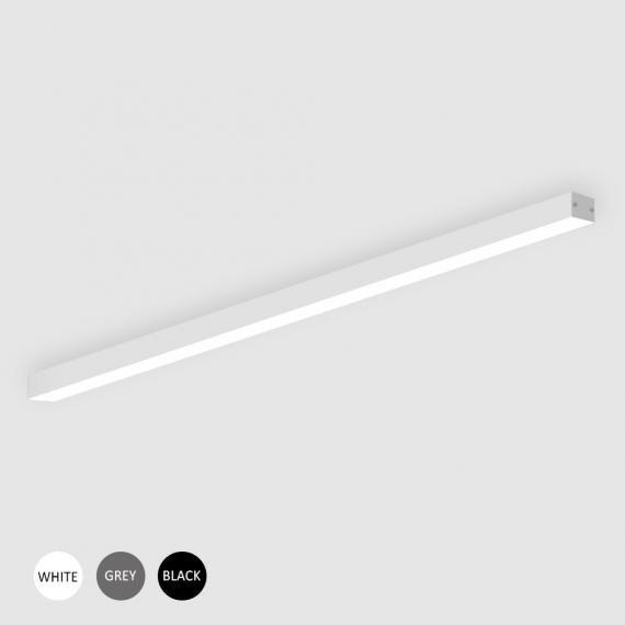 Линеен LED профил S-LINE 30 OM LOW